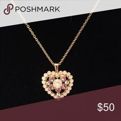 Swarovski Crystal Heart Necklace 🌸 Welcome and thank you for checking out my closet 🌸  Please read below if you are interested in the item:  All items are 💯% Authentic!   Always open to reasonable offers and possible trades.   🛍 Up for sale: Beautiful. New without tags. Never worn. Excellent condition. Swarovski Jewelry Necklaces
