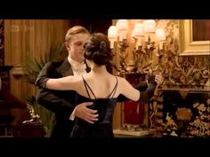 Downton Abbey, Season 2 Epi 6. Matthew and Mary's pent up kiss. I've known a kiss like that before. #obessedwithshow