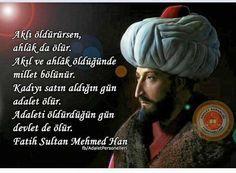 Fatih sultan Mehmet Han Word Of God, Prayers, Words, Life, Sultan, Ottoman Empire, Europe, Number, Twitter