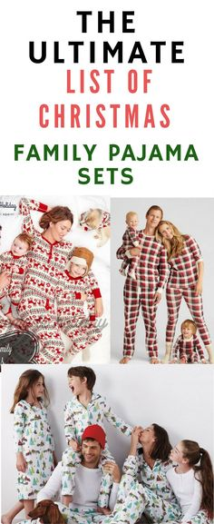 Christmas pajama sets are my favorite tradition. I love all of us being cozy together in our pajamas on Christmas morning.
