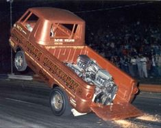 Vintage Drag Racing - Wheelstanders - Chuck Poole's Chuckwagon