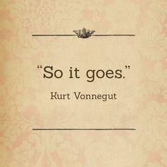 Remembering Kurt Vonnegut | Out of Print Clothing