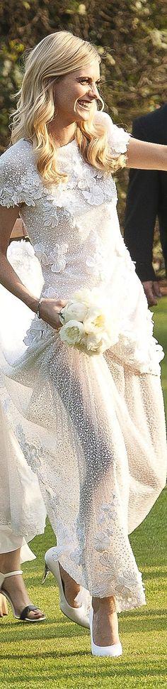 Cara Delevingne - Chanel Bridal Gown