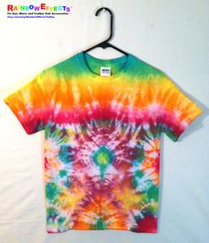 Tie Dye Tshirt  Rainbow Stained Glass by RainbowEffectsTieDye, $12.50