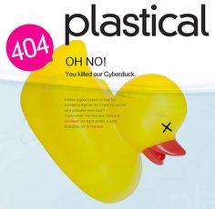 Plastical 404 web page
