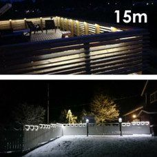 LED nauha terassipaketti 15 metriä, himmennettävä, IP65