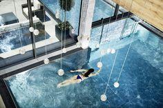 Thermalpool im Hotel Riederalm in Leogang! Salzburg, Hotel Ski, Outdoor Pool, Outdoor Decor, Spa Design, Resorts, Life Is Good, Skiing, Chill