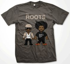 The Roots, Philly Hip Hop, Jimmy Fallon, T-Shirt, T Shirt | Black Action Tees, LLC