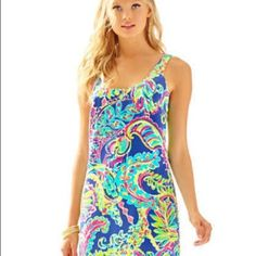 Lilly Pulitzer Silk Backless Dress