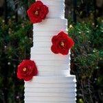 Red and White Wedding Ideas  www.LuvandIDo.com