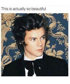 He looks like from a movie, like James bond