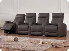 Shop the Regent Leather Recliner Collection and a wide range of other furniture collections. Showrooms in Sydney, Melbourne & Brisbane Living Room Furniture Layout, Funky Furniture, Home Furniture, Furniture Shopping, Leather Lounge, Leather Ottoman, Leather Recliner, Home Theatre Lounge, Home Theater