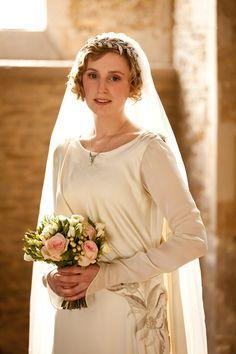 Una boda victoriana inspirada en Downton Abbey: fotograma de la boda