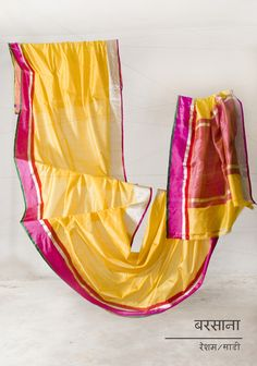 Pictures from our exhibition of mashru and chanderi handwoven saris, stoles and dupattas by Raw Mango.     See more: http://www.facebook.com/GoodEarthIndia