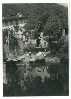 LAGO DI SUVIANA (??) BOLOGNA Foto d Epoca Old Photo 1936 Vintage Paesaggio F250