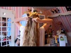 Braided Knot - YouTube Hair Tutorial