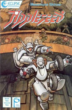 Arthur Adams Appleseed Book Volume 2 One of the great things about Adams' career is the way he hopped around to so many indie side projects. He drew the covers of these English adaptations of Masamune Shirow's Appleseed manga book. Comic Book Artists, Comic Artist, Comic Books Art, Manga Books, Manga Art, Manga Anime, Character Art, Character Design, Masamune Shirow