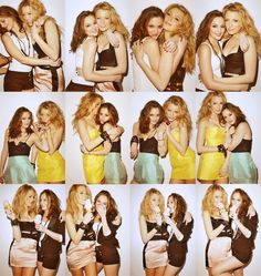 Leighton Meester and Blake Lively