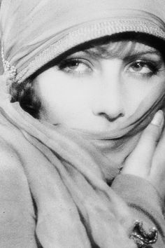 Greta Garbo...love this photo of her!