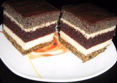 Csíkos krémes recept foto Tiramisu, Food And Drink, Cake, Ethnic Recipes, Kuchen, Tiramisu Cake, Torte, Cookies, Cheeseburger Paradise Pie