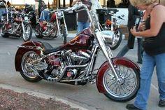 2001 Harley Davidson Fatboy .  @ Thunder Beach ,Panama City Beach ,FL