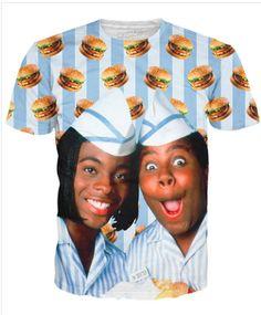 Kenan and Kel Good Burger T-shirt http://shop.nylon.com/collections/whats-new/products/kenan-and-kel-good-burger-t-shirt #NYLONshop