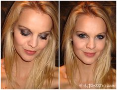 pretty night out look with ud naked palette