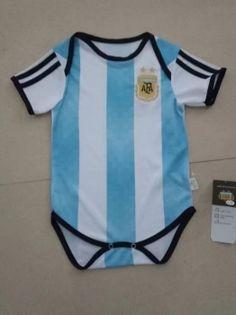 2018 World Cup Infant Jersey Argentina Home Replica Football Shirt Soccer Jerseys, Football Shirts, Argentina World Cup 2018, World Cup Jerseys, Soccer Kits, Baby Shirts, Jersey Shirt, Baby Kids, Sportswear