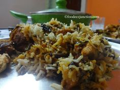 Here is a step by step guide toHyderabadi Chicken Dum Biryani Recipe…