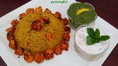 Arabic Prawn Majboos Recipe is Mediterranean version of our own biriyani but can be easily cooked and taste delicious.