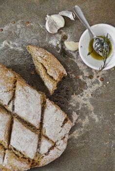 oat soda bread by valeria necchio