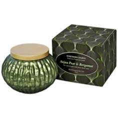 Lustre Fragranced Anjou Pear and Bergamot Candle