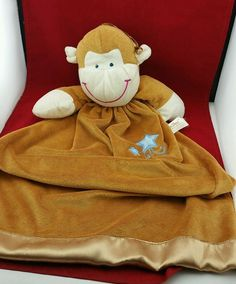 Dan Dee Monkey Lovey Silk Trim | Toys & Hobbies, Stuffed Animals, Dan Dee | eBay!