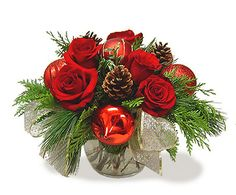 Christmas Roses Bubble Bowl  How Sweet !!!  2012