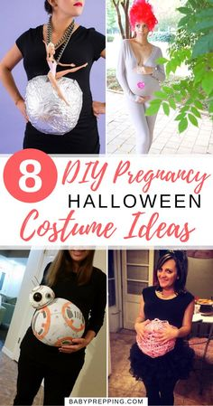 Halloween Costumes to Rock That Baby Bump with Some DIY 8 DIY Pregnancy Costumes Halloween Baby Announcement, Halloween Pregnancy Shirt, Cute Baby Halloween Costumes, Pregnancy Costumes, Pregnancy Shirts, Halloween Kids, Maternity Costumes, Maternity Halloween, Maternity Shirts