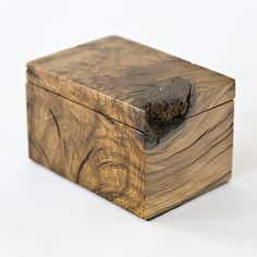Wood Box, This one is almost the perfect square box, but still has all the flaws of being in it's original state.
