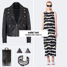 Eleven Paris - Leather Jacket Cheap Monday - Handbag Pilgrim - Earrings & Ring Cheap Monday - Dress
