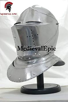 Medieval Closed Knight Armour Helmet By Medieval Epic Medieval Epic