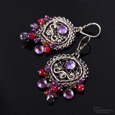 Kolczyki ze srebra - Kolczyki - Biżuteria srebrna