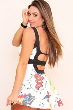 Dani Banani Moda Fitness - macaquinho-shorts-saia produto 2612 macaquinho