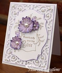 Products Used: HCDP1 239 Majestic Morning Paper Collection HCPC 3581 Majestic Morning Accents PreCut Set HCPC 3578 Majestic Morning Background PreCut Set HCD 742 Majestic Blooms Die HCPC 3354 Classic Message PreCut Set 031467 A-2 Filigree Delight Nestabilities Spellbinders Labels 18