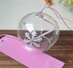 Hand Blown Glass Ornament Wind Bell ,Japanese Wind Bell colour home decoration