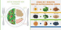 Aprende a hacer tu plato saludable con estas sencillas infografías – Hoy Aprendí Salud