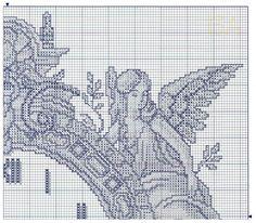 Cross Stitch Clock 1 of 4 - Gallery.ru / Фото #118 - Отшитые схемы 1 - livadika