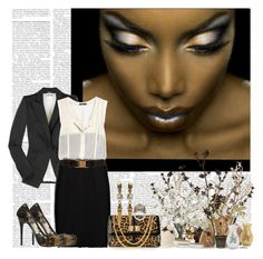 Raucous by dianelynn on Polyvore featuring polyvore, fashion, style, Theory, Alexander McQueen, Christian Louboutin, ASOS, Stephen Webster, J. Peterman, CO, Vessels, INC International Concepts, Forum and clothing