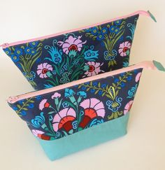 [A few of any zippered pouches for various things would be good I think.] Open-Wide Zippered Pouches - Craftfoxes