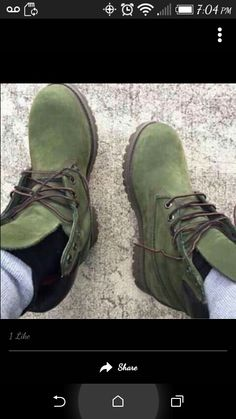 f42d5ae481610 Olive Green Timberland Boots, Timberland Suede Boots, Green Timberlands,  Olive Green Boots,