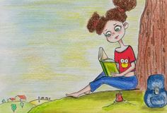 Character design, draw, drawing, littlegirl, book