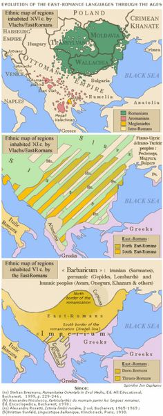 Evolution of the Eastern Romance languages. Evolution of the Eastern Romance languages. Thomas And Friends Videos, Economic Geography, Red Balloon, Old Maps, Historical Maps, History Museum, Cartography, Evolution, Rugs On Carpet