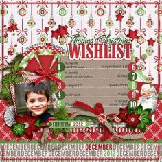 Free Digital Scrapbook Kit: This Life: December